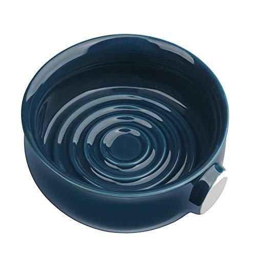 lingzhuo-shop Rasierschale Porzellan Keramik Rasierseifenschale Große Kapazität Glatt Leicht Zu Reinigen Schüssel Für Mann Rasiermesser Reinigung Schaum