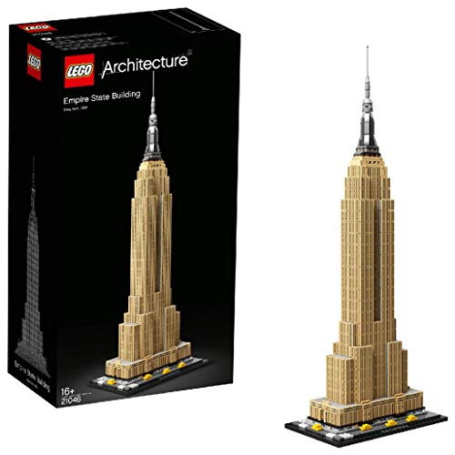 LEGO 21046 Architecture Empire State Building New York Landmark Collectible Model Building Set