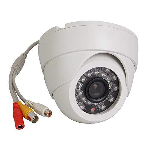 Vanxse CCTV 24ir LEDs 1/3 CCD 800tvl Indoor Dome Audio Camera D/n Security Surveillance Camera
