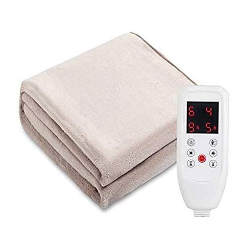 Electrica Manta Electrica Almohadilla Manta de calentamiento cordial promediada, manta eléctrica con...