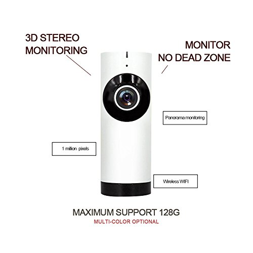 PeiteMadun 1,3 millones de píxeles de la cámara IP sin hilos, cámara de cámara web de voz Intercom 720p HD cámara de vigilancia inalámbrica con tf tarjeta de disparo