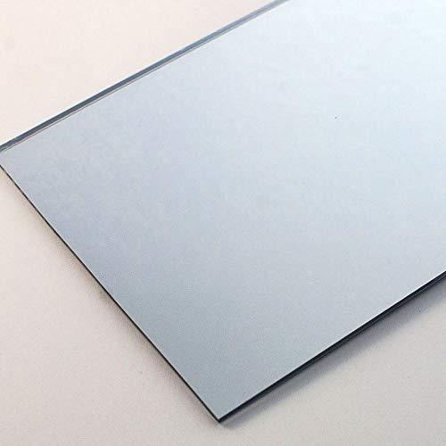 Lasercutouts, Specchio Acrilico Argentato, in Perspex, 3 x 150 x 100 mm, Foglio di Sicurezza in plastica, 1 Pezzo