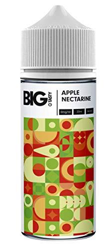 Big Tasty - Aroma concentrado de manzana y nectarina para mezclar con líquido base para e-líquido,...