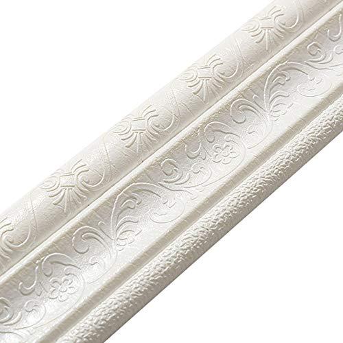 Foliner Bordo Parete del Bastone Buccia Bordi Adesivi per Pareti Bordi Impermeabili della Parete per Cucina del Bagno della Decorazione della Parete di Casa