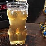 Whisky Kristall Schnapsglas Set - Whisky Frauen Nackte Biene Glas Tasse - Blei Kostenlose Personalisierte Schnapsgläser Für Wein, Schnaps, Spirituosen, Gin, Wasser, Wodka, Scotch, 360Ml
