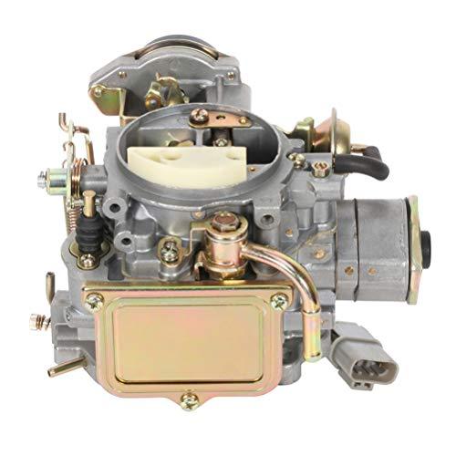 LSAILON Automotive Carburetor Carb Fit for for Nissan 720 pickup 2.4L Z24 engine 1983-1986 for Nissan Bluebird Caravan Datsun Atras Truck Vanette Panel Van 16010-21G61 1601021G61