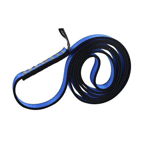 Nylon Sangle Express Escalade Dégaine Fronde 22 KN 80cm X 1.6cm Bleu