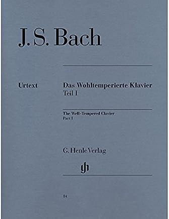 巴赫 十二平均律 第一卷 Bach Wohlt. Klavier 1 br. (亨乐原版进口)