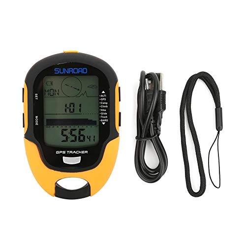 気圧計 GPS電子高度計 温度計 デジタル IPX4防水 コンパス 湿度表示 ナビゲーション 多機能 アウトドア用品