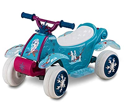 Kid Trax Disney Frozen 2 Quad 6V Battery-Powered Ride-On Toy