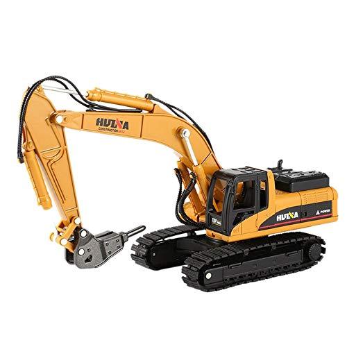 SXPC 1/50 Drill Escavatore Vehicle Engineering con Lega Rottura Martello Giocattolo per Bambini Housing Collection Decoration