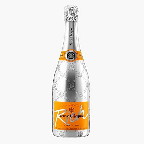 2 Flaschen Veuve Cliquot Rich Champagne (1 x 0.75l)