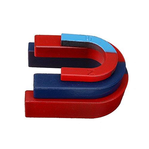 Sonsan - Juego 3 imanes herradura forma U, pintados