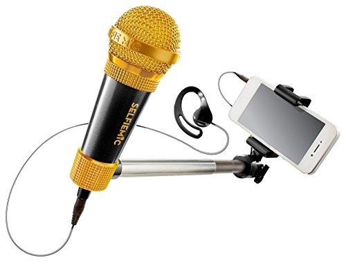 SelfieMic Palo de Selfie con micrófono