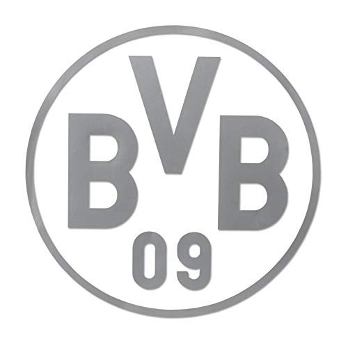 Borussia Dortmund BVB-Heckscheibenaufkleber Silber