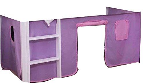 Unbekannt Vorhang für Hochbett Etagenbett Vorhang 2 TLG. Neu Cinderella