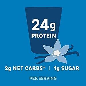 Quest Nutrition Protein Powder, High Protein, Low Carb, Gluten Free, Soy Free, Vanilla Milkshake, 1.6 Pound