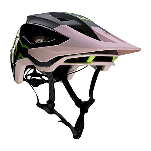 FOX Speedframe Pro ELV Helm Herren Black/pink Kopfumfang L | 59-63cm 2020 Fahrradhelm