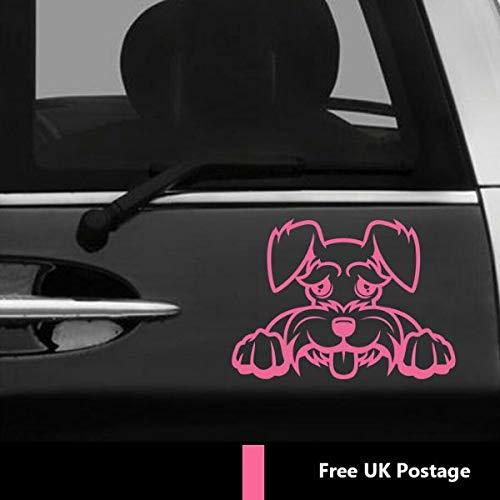 myrockshirt Idefix Hundeaufkleber Zeichentrick ca 20 cm Aufkleber,Sticker,Decal,Autoaufkleber,UV&Waschanlagenfest,Profi-Qualität