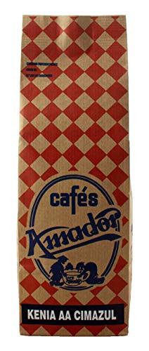 Cafés AMADOR - Café en GRANO Natural Arábica - KENIA AA (2x250g) 500g
