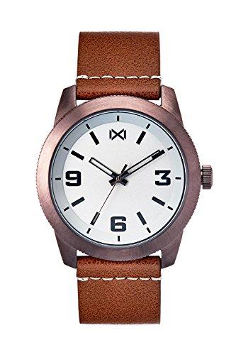 Mark Maddox Reloj Analogico para Hombre de Cuarzo con Correa en Cuero HC0100-15