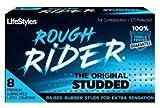 Lifestyles Rough Rider (Raised rubbber Studs) Condoms (8 Pack)