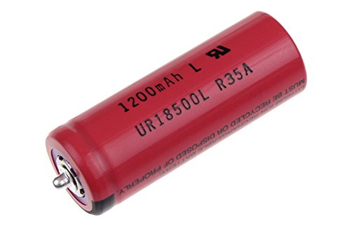 BRAUN - Rechargeable battery Li-Ion (UR 18500Y) - 81377206