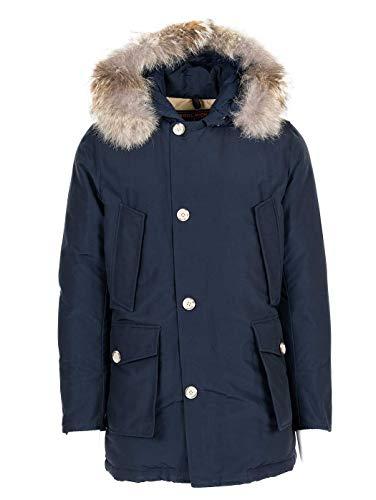 WOOLRICH Luxury Fashion Herren WOCPS1674CN01MLB Blau Jacke | Jahreszeit Permanent