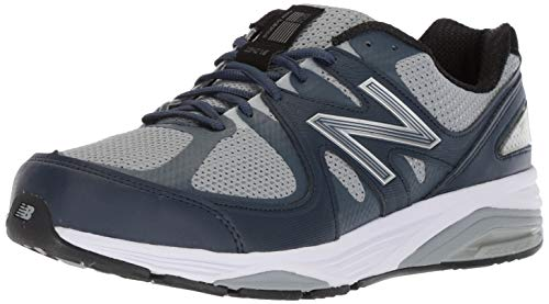 New Balance Men's Made 1540 V2 Running Shoe, Grey/Navy, 7.5 6E US