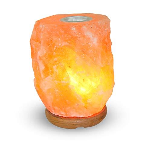 brucia essenze oli essenziali in sale rosa del Himalaya lampada 3-5 kg con diffusore