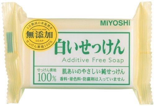 ミヨシ石鹸『無添加 白いせっけん』