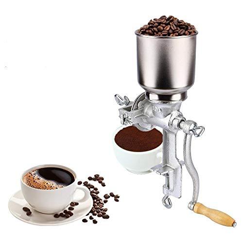 Handmühle, Manuelle Kaffeemühlen Maismühle Mohnmühle Handgetreidemühle Nussmühle Schrotmühle Getreidemühle Kornmühle für zu Hause und im Café, 43cm * 28cm * 16cm