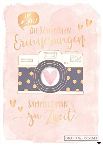 Grafik Werkstatt Glückwunschkarte Hochzeit, Musikkarte mit Sound, Song