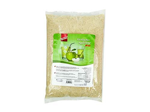 Lezzo, Türkischer Apfeltee grüner Apfel, 1000 g Instantgetränk Pulver im Beutel, löslicher Instanttee heiß oder kalt genießen