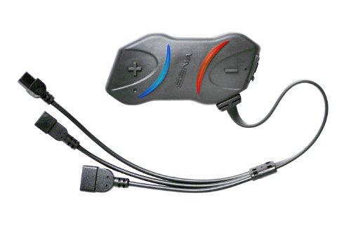 Sena SMH10R-01 Sistema de comunicación Bluetooth delgado, paquete unitario