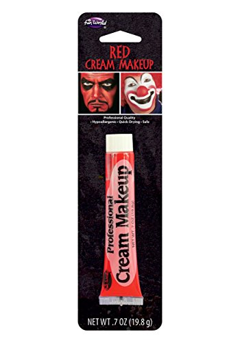 Fun World Red Professional Cream Makeup Standard