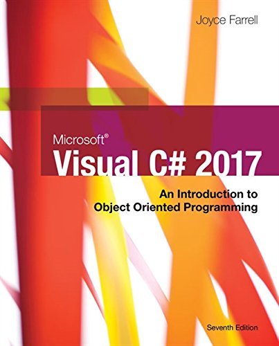 Microsoft Visual C#: An Introduction to Object-Oriented Programming (MindTap Course List)