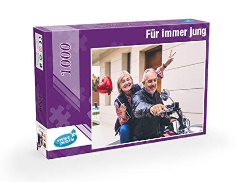 Fotopuzzle 1000 Teile, Puzzle mit eigenem Foto, Individuelles Puzzle mit bis zu 2000 Teilen