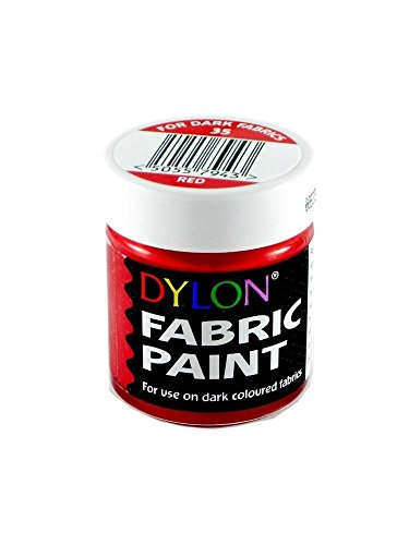 DYLON FABRIC PAINT DYE [#35 OPAQUE RED,1]