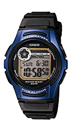 in budget affordable Casio W213-2A VCF Men's Waterproof Sports Watch