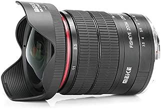 MEKE 6-11mm F/3.5 Wide Angle APS-C Manual Focus Zoom Lens for Canon EF Mount DSLR Cameras