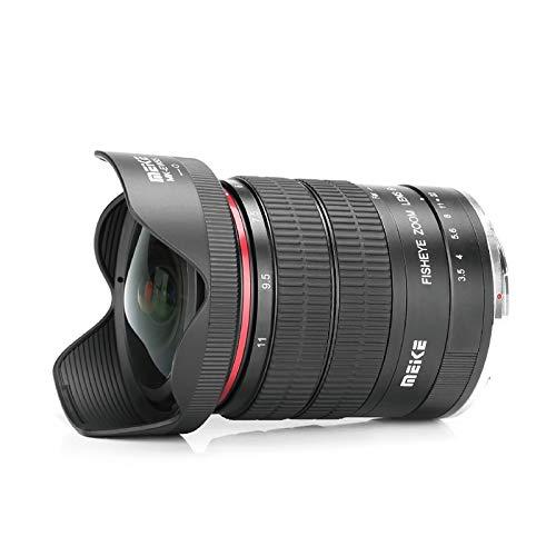Meike - Lente de zoom de enfoque manual para cámara Canon EF Mount DSLR (6-11 mm, f/3,5)
