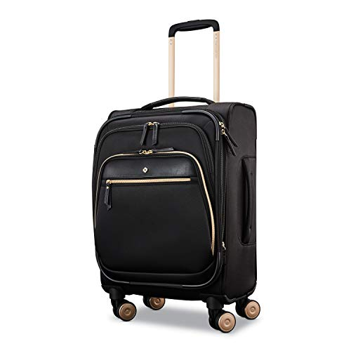 Samsonite Women's Mobile Solution Business Travel (Black, Expandable 19-inch Spinner)