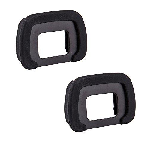 JJC Visor Ocular Eyecup para Pentax KP, K5, K5II, K5IIs, K-7, K-S1, K-S2, K30, K50, K-70, K500 Reemplazo de Pentax FR Ocular (Lote de 2)