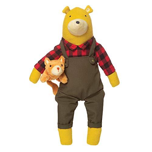 Manhattan Toy Lemon The Bear + Kitty, Stuffed Animal Bear and Kitten,...