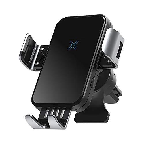 YuuHeeER 1 soporte de carga inalámbrico para teléfono móvil de coche, de inducción, de navegación automática.