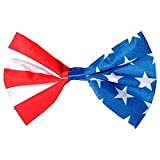 amscan Red, White And Blue Bow Tie, Party Accessory, multicolor (396301)
