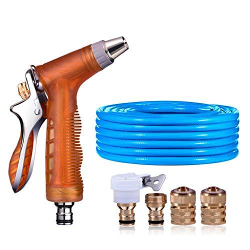Douches & douche hogedruk-autowas waterpistool thuis verhoog druk grafslang sterke sproeier voor het aansluiten van leidingwater irrigatie & slangsystemen