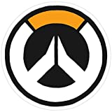 Stickers Overwatch Logo Laptop (3 Pcs/Pack) 3x4 Inch Wall Decals Vinyl