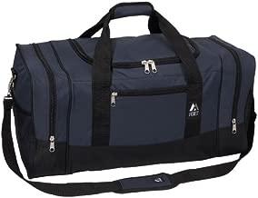 Everest Luggage Sporty Gear Bag - Large, Navy/Black, Navy/Black, One Size